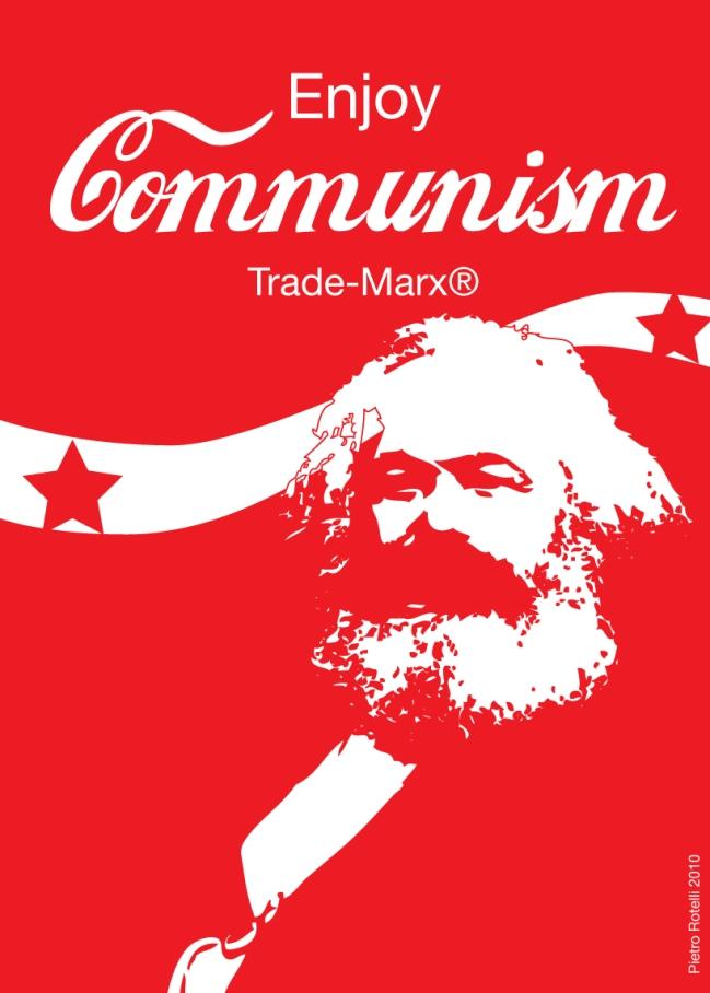 Marx Coca Cola Communism