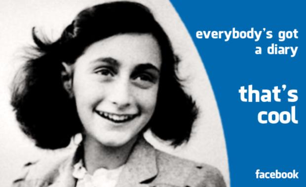 Anna Frank facebook diary