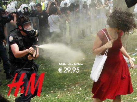 H&M-Gezi-Park-Red-Dress-Riot-Turkey