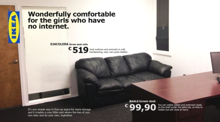Ikea backroom couch