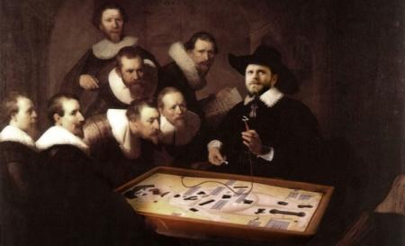 Paolo-Giordano-Lezione di Anatomia-Rembrandt